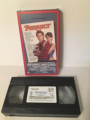 Perfect VHS Tape 1985 John Travolta Jaimie Lee Curtis Auction Finds 702