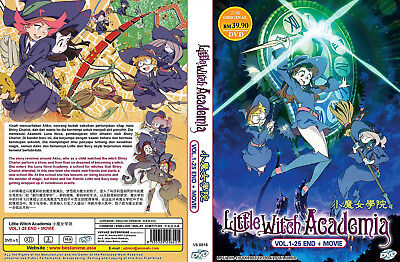 ENGLISH DUBBED* LITTLE Witch Academia Vol 1-25 End + MV