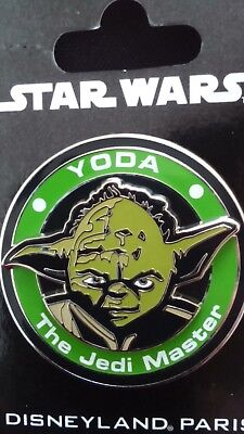 Pins Disney Disneyland Paris Star Wars : Medallion Yoda‏‏‏‏‏‏‏‏‏‏‏‏
