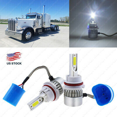 LED CONVERSION KIT Bulbs for 2000-2016 Peterbilt Pete Headlight Lamp