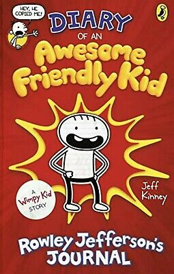 Diary of an Awesome Friendly Kid Rowley Jefferson's Journal Diary of a Wimpy Kid