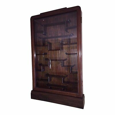 Early 20th Century Hongmu Hardwood Cabinet