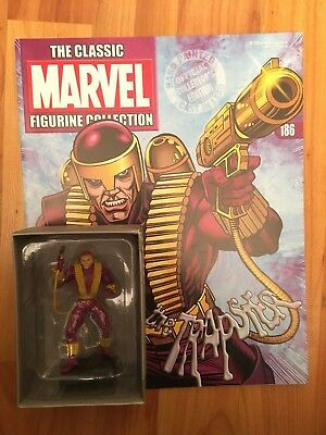 Classic Marvel Figure Collection Issue 186 The Trapster Eaglemoss Figurine + Mag