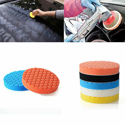 5Pcs 6'' Inch 150mm Car Sponge Buffer Buffing Polishing Pad For Auto Polish