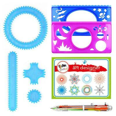 22PCS Accessories creative drawing toys spiral designs educational toys for k JB