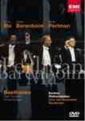 Beethoven: Triple Concerto and Choral Fantasy (UK IMPORT) DVD NEW