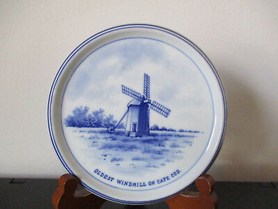 Circa 1910 Souvenir Delft Trivit Windmill Cape Cod West Yarmouth Massachusetts