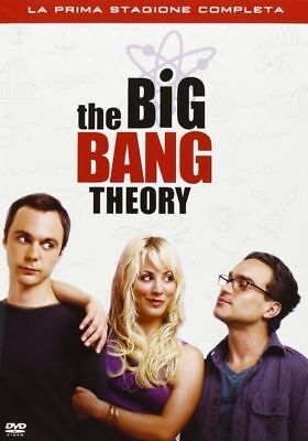 Cofanetto 3 dvd THE BIG BANG THEORY La prima 1 Stagione Completa-vers ITALIANO