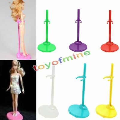 5x Doll Toy Stand Support Prop Mannequin Model Holder For Monster High Bratz #G