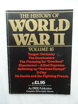 Vintage History of World War II 2 Magazine #16 Dambusters Eisenhower D Day