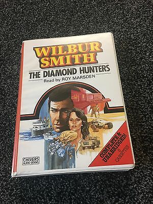 The Diamond Hunters Wilbur Smith   audio book  6 Tapes Com.& Unabridged