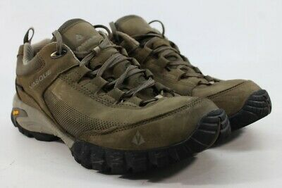 9eb92278f62 VASQUE TALUS TREK Low UltraDry Men's Black Olive/Aluminum Hiking Shoes 10.5M