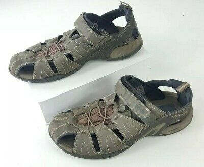 37e3e32db85d Teva Mens Dozer III Sport Sandals Water Black Brown 4154 Mens Size 10