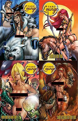 Faro's Lounge Twin Pack -- Sketchbook & Poster Combo -- 11 x 17 Mature Art