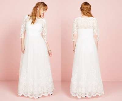 178fc052f8d79 Chi Chi London Sophisticated Ceremony Maxi Dress White Gown US8 Fits S $200