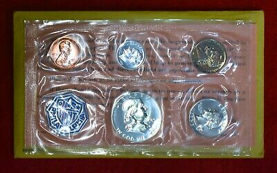 1963 US Silver Proof Set ••• All Gem BU+++ 5-Coin Flat Pack ••• SEE OUR STORE!