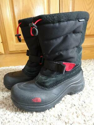 ac2df41b6 NORTH FACE BOYS Snow Boots Sz 6 Waterproof 200 G Insulated Chilkat ...