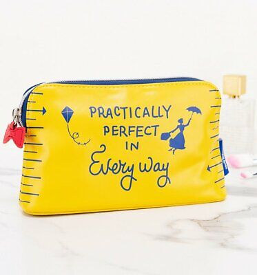 Official Disney Mary Poppins Practically Perfect Make up Bag