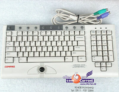Compaq Keyboard Trackball for Cash Point O.Server 164989-b31 Kb-9968