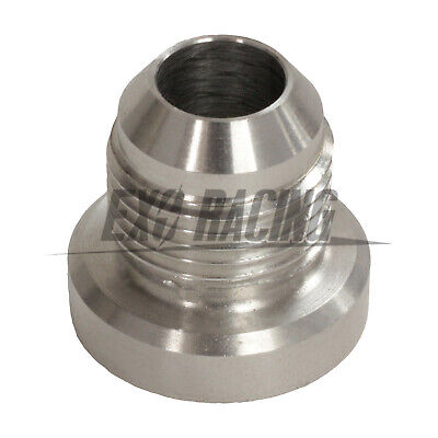AN -6 AN6 -6 JIC AN 06 Male Aluminium Weld On Fitting Round Base catch can tank