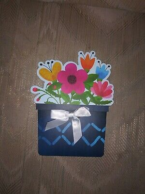 Mothers Day Amazon Gift Card Holder Flower Pot Flowers Spring Birthday 2019...