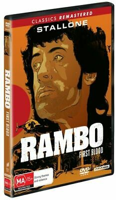 Rambo - First Blood (DVD, 2019) (Region 4) New Release