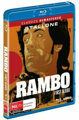 Rambo - First Blood (Blu-ray, 2019) (Region B) New Release