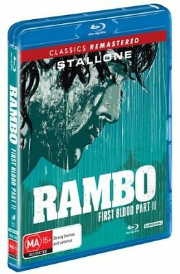 Rambo - First Blood II (Blu-Ray, 2019) (Region B) New Release