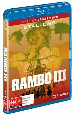 Rambo - First Blood III (Blu-ray, 2019) (Region B) New Release