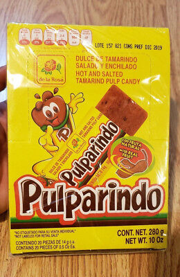 55 PC MEXICAN Candy Mix Dulces Mexicanos Chamoy Pulparindo