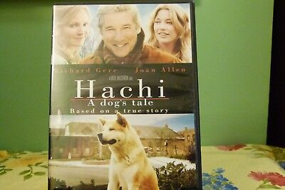 Hachi: A Dogs Tale (DVD, 2010) Near Mint Condition