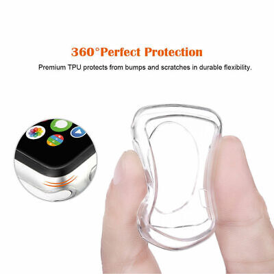 NEW Apple Watch Series 4 iWatch 40/44mm Clear TPU Screen Protector Case AU STOCK
