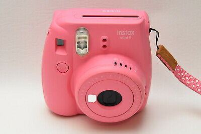 Fujifilm Instax Mini 9 - Flamingo Pink Instant Film Camera Great Condition |RA4