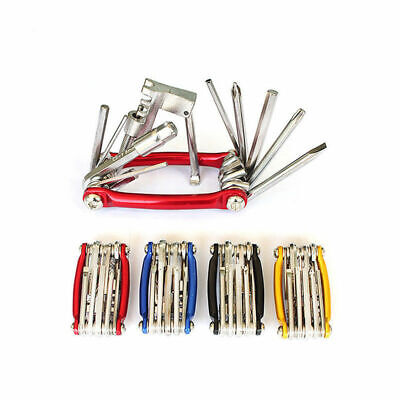 11 Multi Tool Bicycle Bike Allen Hex Keys Screwdriver Chain Link Tool MTB ROAD N