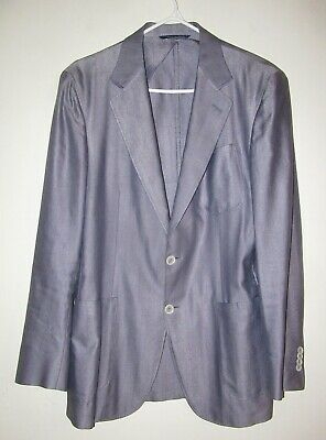 CANALI  Kei Jacket  Blazer / Sport Coat  50 R (US 40 R) Made in Italy