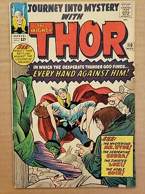 Journey Into Mystery #110 Thor FN-