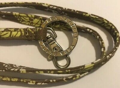 Retired Rare Vera Bradley Lanyard Clip & Key Ring Sittin In A Tree Excellent