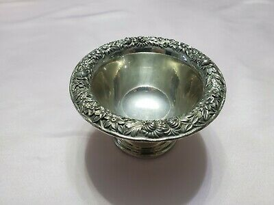 S. Kirk & Son Sterling Silver Repousse Rose Bowl  number 214