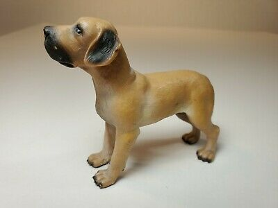 With Tag Schleich rare retired #16320 Great Dane Dog Made in Germany (#6 R)