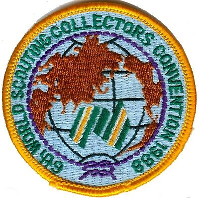Australian Boy Scout 1988 6Th World Scouting Collectors Conference Badge