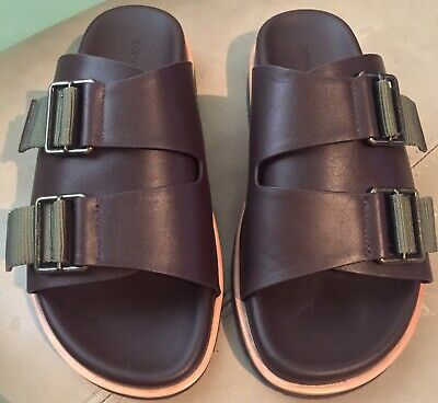 0984a977ec12 DONALD J PLINER Men s Byron Sandals Brown Size 7 -  79.99