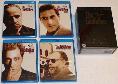 The Godfather: The Coppola Restoration Blu Ray Boxset