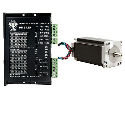 【Free Ship】Nema 23 Stepper Motor 435oz-in 4.2A &Driver Controller DM542A