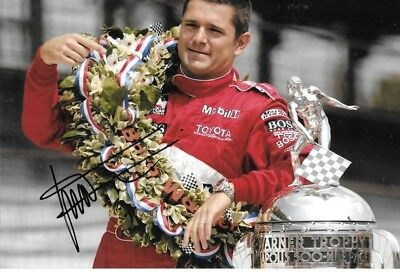 Gil de Ferran SIGNED Indianapolis 500 Winners Portrait Team Penske 2003