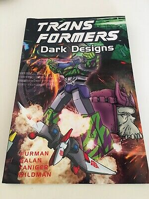 Transformers, Dark Designs, Graphic Novel,