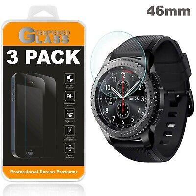 Samsung Galaxy Watch Screen Protector Tempered Glass 3 PACK 46mm