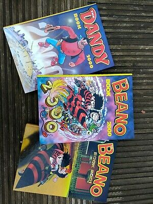 Beano and dandy annuals 2000 2001