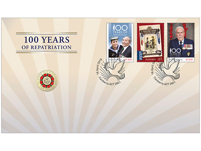 2019 100 Years of Repatriation Anzac Day - $2 Dollar Coin PNC Australia