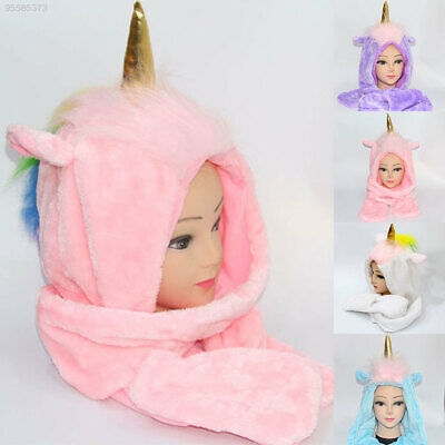 DBA7 Four Colors Scarf Winter Supply Gift Cute Hat
