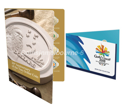 2018 30th Anniversary of the $2 Coin Set + Commonwealth Games Set Australia
